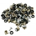 Cage Nuts & Bolts - Pack of 50
