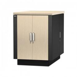 APC NetShelter CX 18U Secure Soundproof Server Room in a Box Enclosure