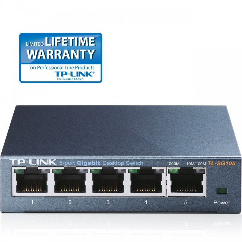 TP-Link TL-SG105 5-Port Gigabit Desktop Switch