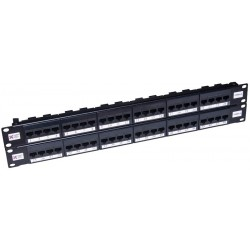 48 Port Cat5e UTP Elite Patch Panel