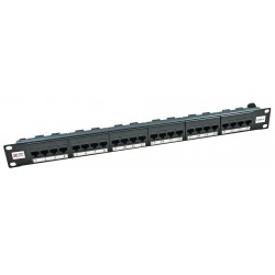 24 Port Cat6 UTP Elite Patch Panel
