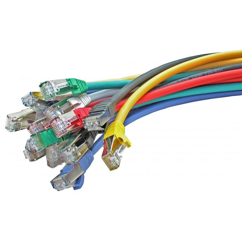 Shielded FTP Cat5e RJ45 Ethernet Patch Lead