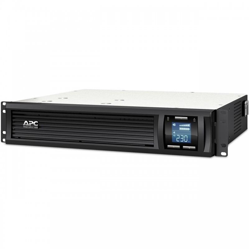 APC SMC1000I-2U Smart-UPS C 1000VA 2U Rack mountable LCD 230V