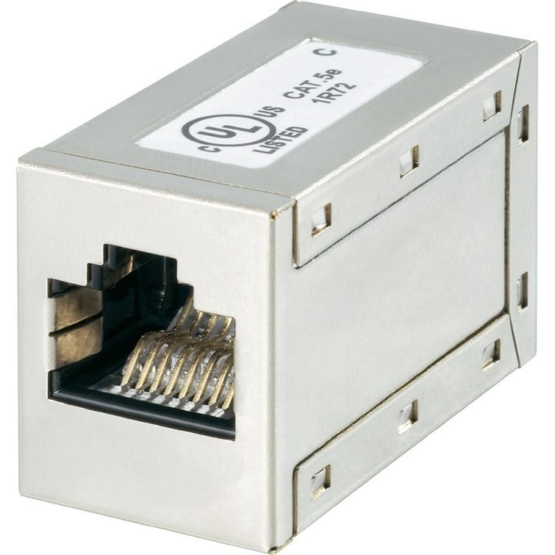 Cat5e FTP Shielded RJ45 Through Coupler