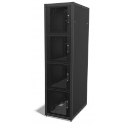 42u 800mm x 1200mm 4 Compartment CoLocation Server Rack