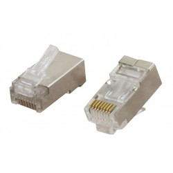 CCS Cat6a FTP RJ45 Plug - For Solid Cable