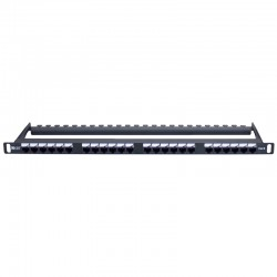 0.5u Cat 6 UTP Elite Patch Panel