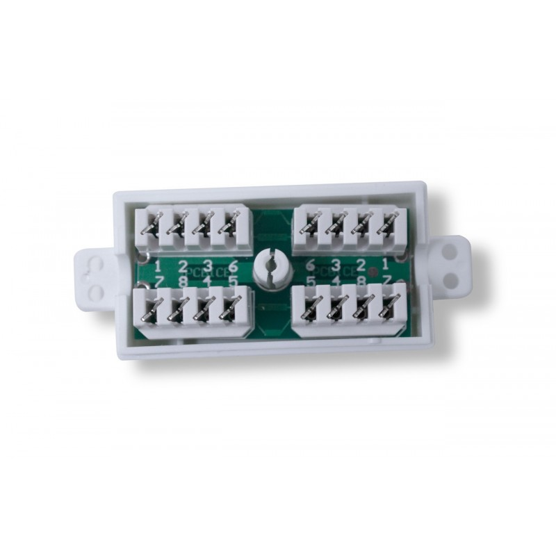 Cat5e Inline IDC Coupler Box