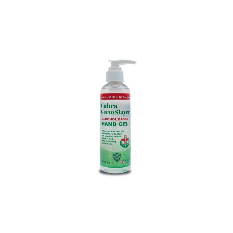 Cobra Protect Hand Sanitiser 200ml Pump