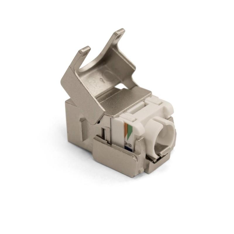Cat6a FTP Tool-less Keystone Module
