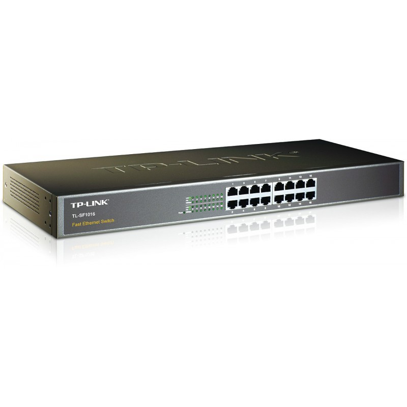 TP-LINK TL-SF1016 16-Port 10/100Mbps Fast Ethernet Switch
