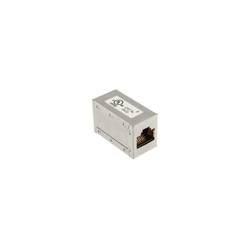Cat6a FTP Shielded RJ45 Through Coupler