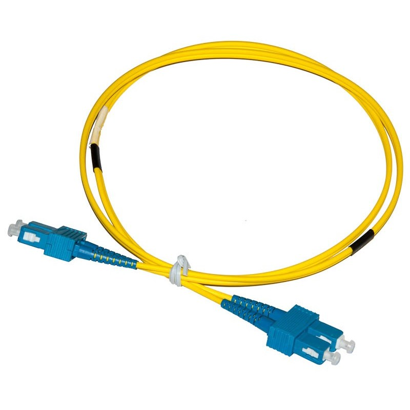 SC - SC Singlemode (9/125) Duplex Fibre Patch Lead