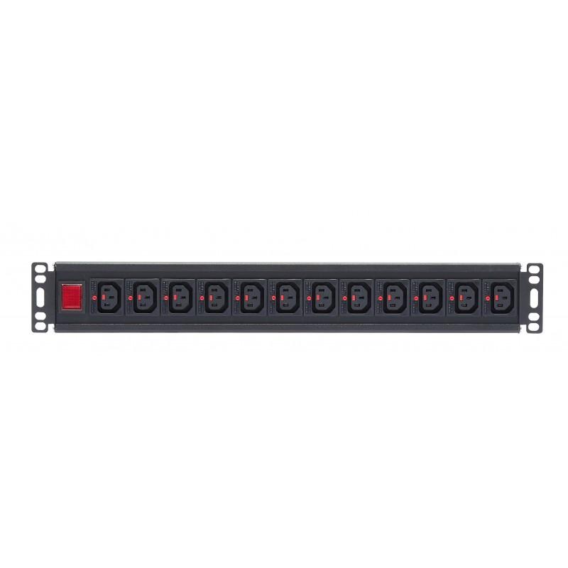 Locking IEC C13 Socket / IEC C20 Plug Rack PDU
