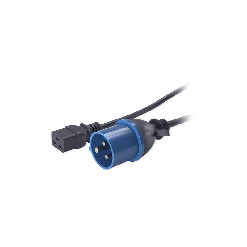 IEC C19 to IEC309 16A Power Lead - 2.5m