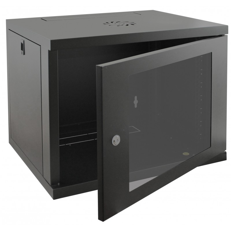 9u 450mm deep wall mounted data cabinet for How to increase cabinet depth