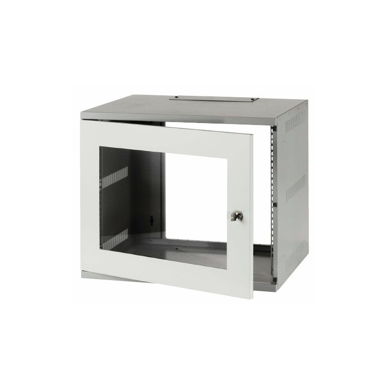 9u 600mm Deep Wall Mount Data Cabinet