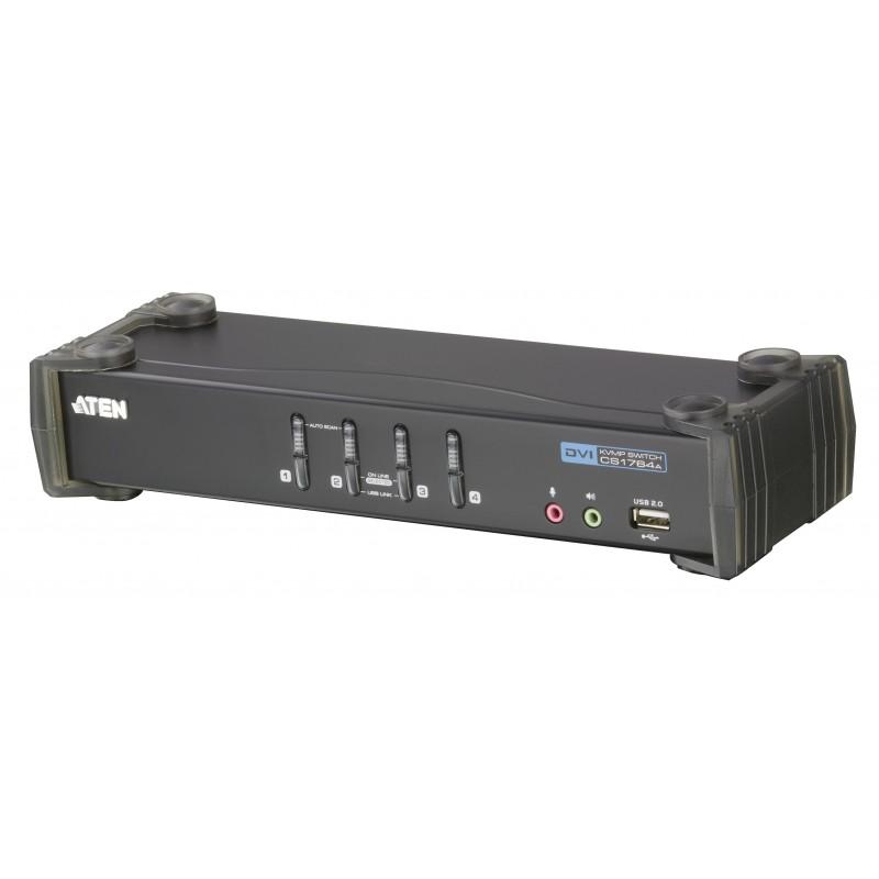 Aten CS1764A USB 2.0 DVI KVMP™ Switch