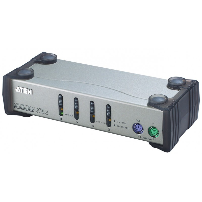 Aten CS84A 4-Port PS/2 KVM Switch