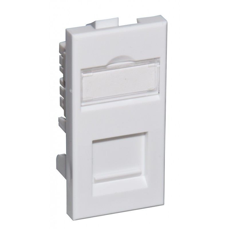 Cat5e Shielded RJ45 Modules - Euromod Size